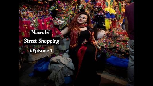 Street Shopping-Navratri